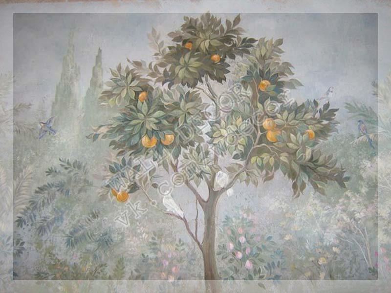 Фото №2 Образец росписи в интерьере