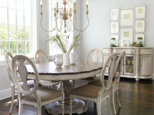 Фото №3 Состаренный деревянный мебельный комплект